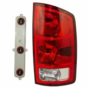 Holiday Rambler Admiral Right (Passenger) Replacement Tail Light Unit & Connector Plate