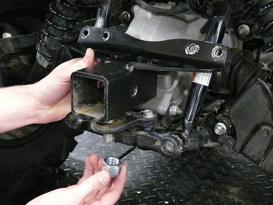 Rear Atv Receiver Hitch Honda