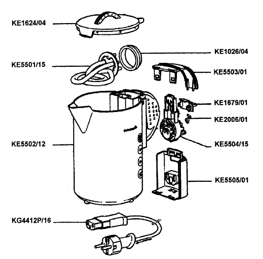 Electric Kettle: Electric Kettle Diagram