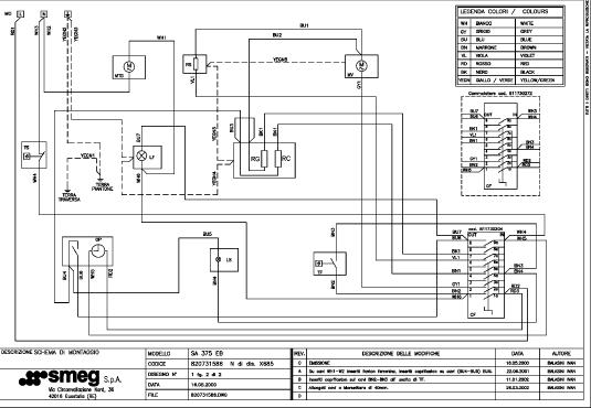 wiring diagram for smeg oven