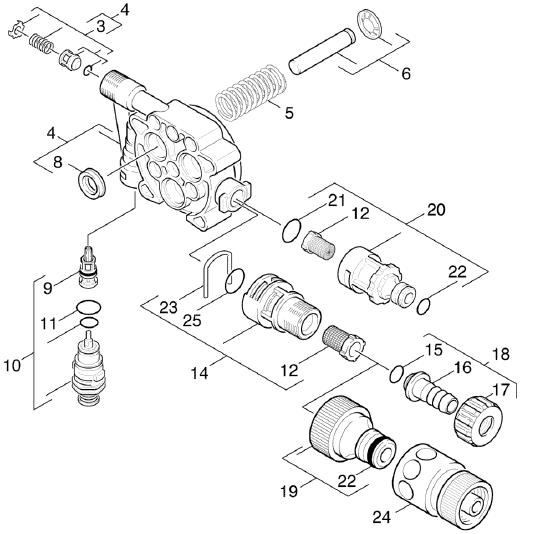 Karcher K4 Assembly Instructions