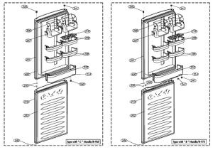 Beko CSA576W Fridge  Freezer Spares | BuySpares