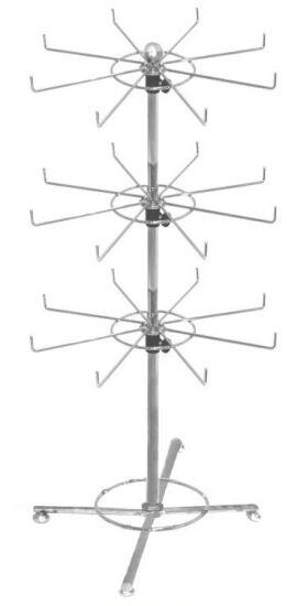 Display Spinning Counter Rack, Revolving Counter Display