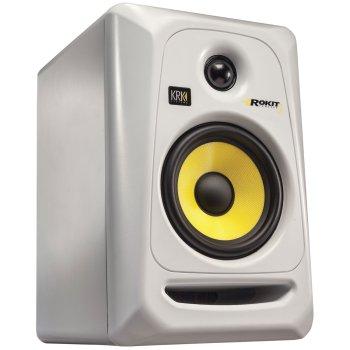 """KRK RP5G3 5"""" High Performance Studio Monitor (White)"""