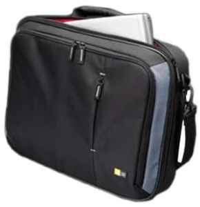 Case Logic VNC-218 18-Inch Laptop Briefcase (Black)