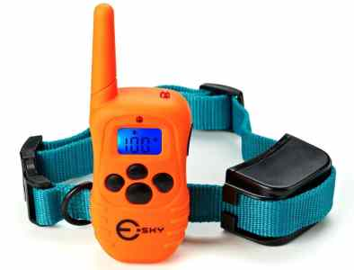 Esky Waterproof Rechargeable LCD Shock Control Pet Dog Training Collar