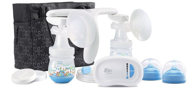 The First Years Double Breast Pump, Quiet Expressions