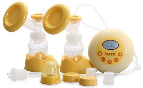 Kinyo FDA Dual-Core Bilateral Breast Pump Milkpump Suction with All Accessories
