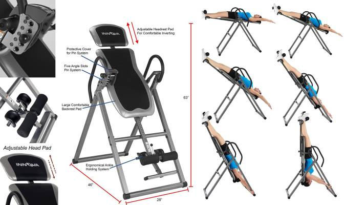 Top 10 Best Inversion Tables Reviewed In 2020- A Step By Step Guide 10