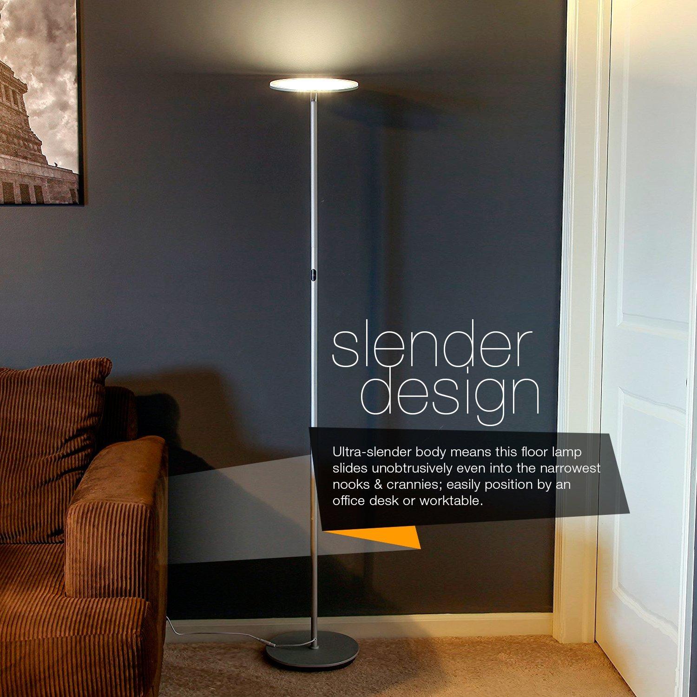 Floor Lamp Office. Brightech \u2013 Sky Led Torchiere Floor Lamp Floor Lamp  Office N