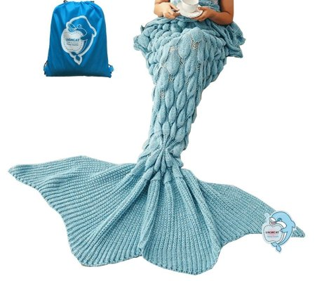 mermaid tail blankets