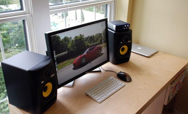 USB Studio Monitor Speaker