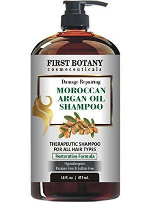 First Botany Damage Repairing Moroccan Argan Oil Shampoo