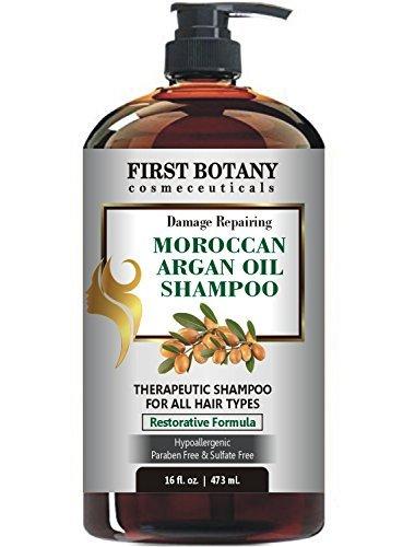 First Botany Damage Repairing Moroccan Argan Oil Shampoo