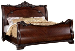 Furniture of America Sleigh Bed