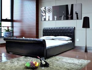GREATIME B1175QQBK Sleigh Bed