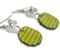 Dill Pickle Earrings   Buy This Bling!