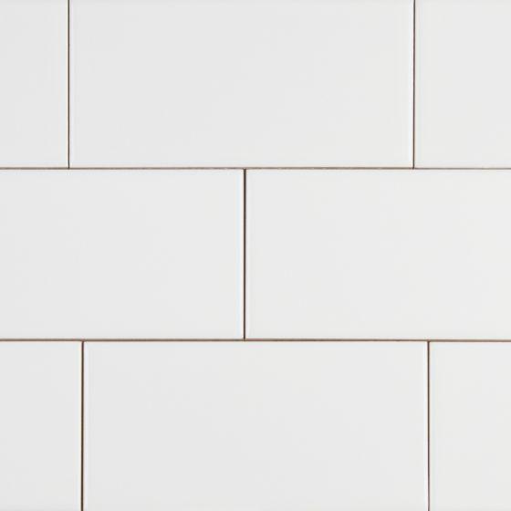 domino white glossy 3x6 ceramic tile