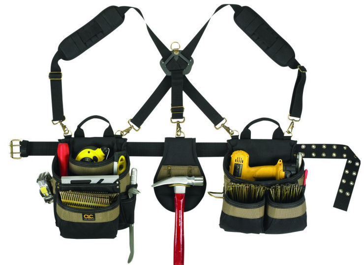 Most Comfortable Tool Belt Framing Tool Pouches
