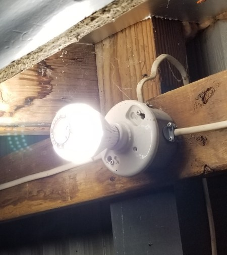 Brightest LED light bulbs for use in garage