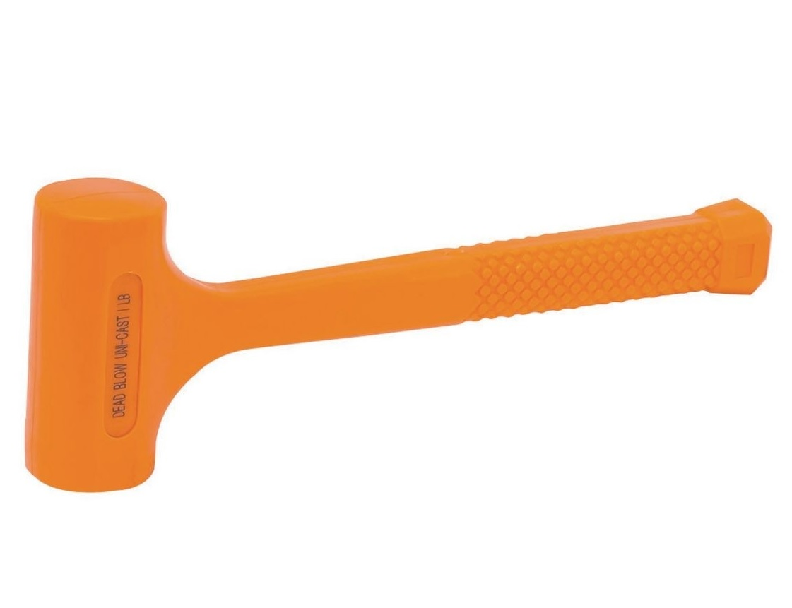 Pittsburgh Neon Orange Dead Blow Hammer warranty