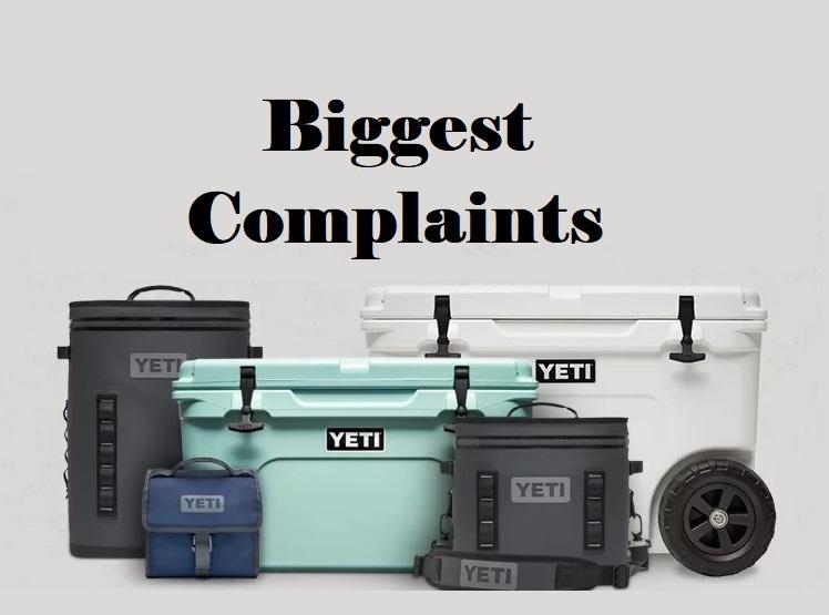 BIGGEST Yeti Cooler Complaints image