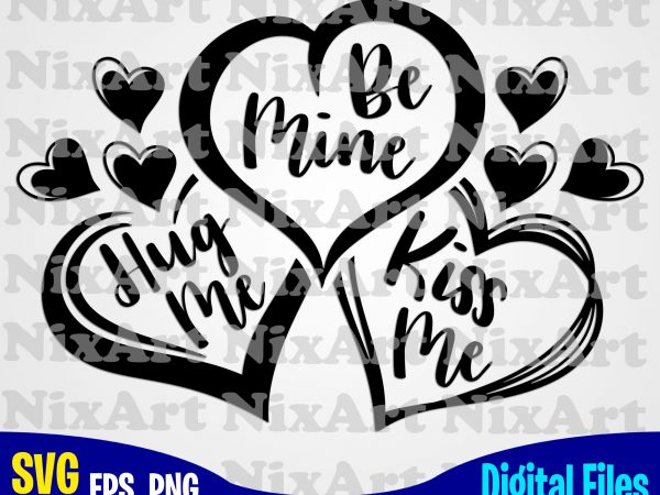 Download Hug me, Be mine, Kiss me, Hugs, Kiss, Love, Valentine ...