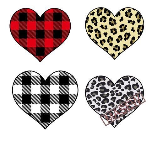Valentine's Day, Love, Heart, Leopard, Buffalo, Valentine ...