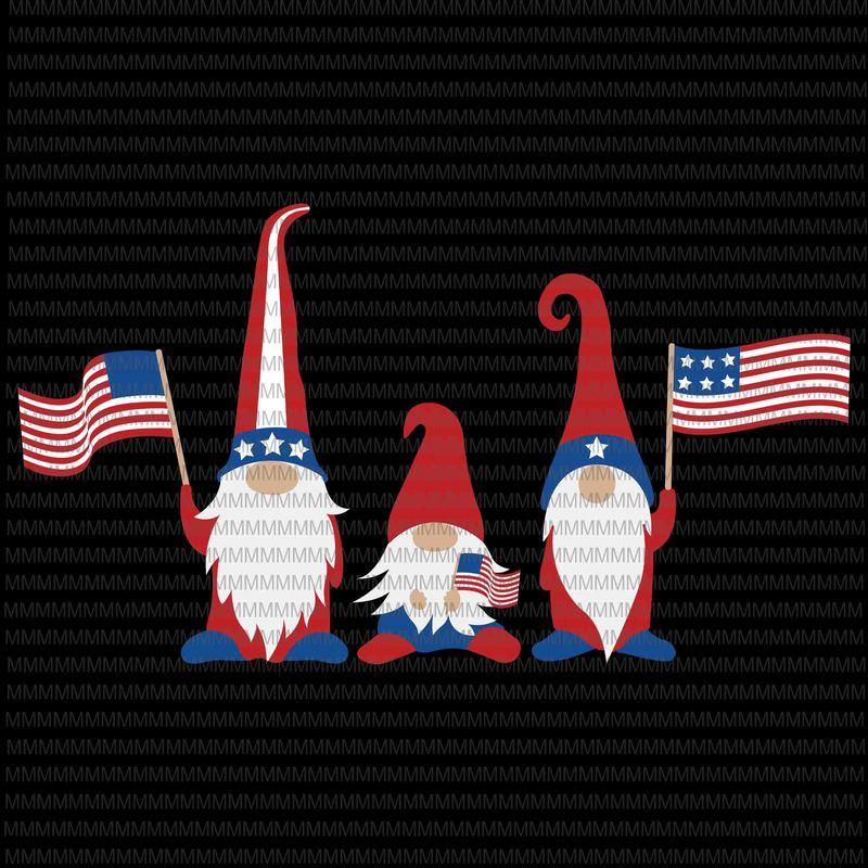Download Patriotic Gnomes SVG, Gnomes 4th of july svg, Three Gnomes ...