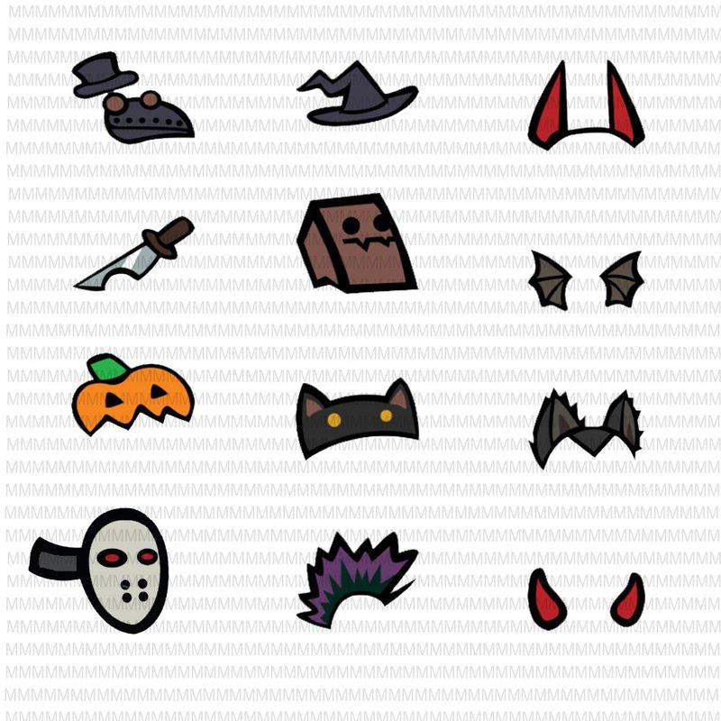 Download 12 Among Us Halloween Bundle SVG, Among Us Shirt SVG ...