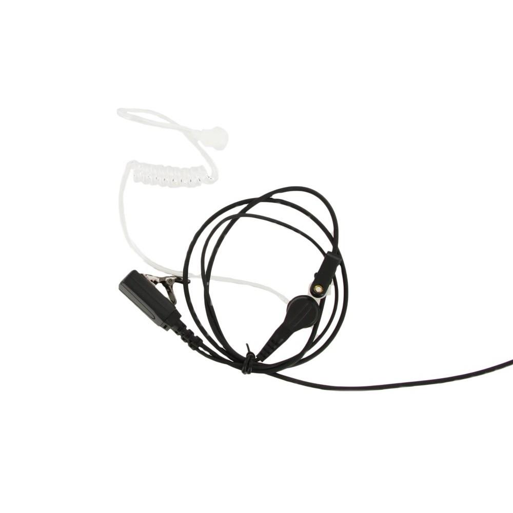 XLT SE110 Surveillance Earpiece with PTT Microphone