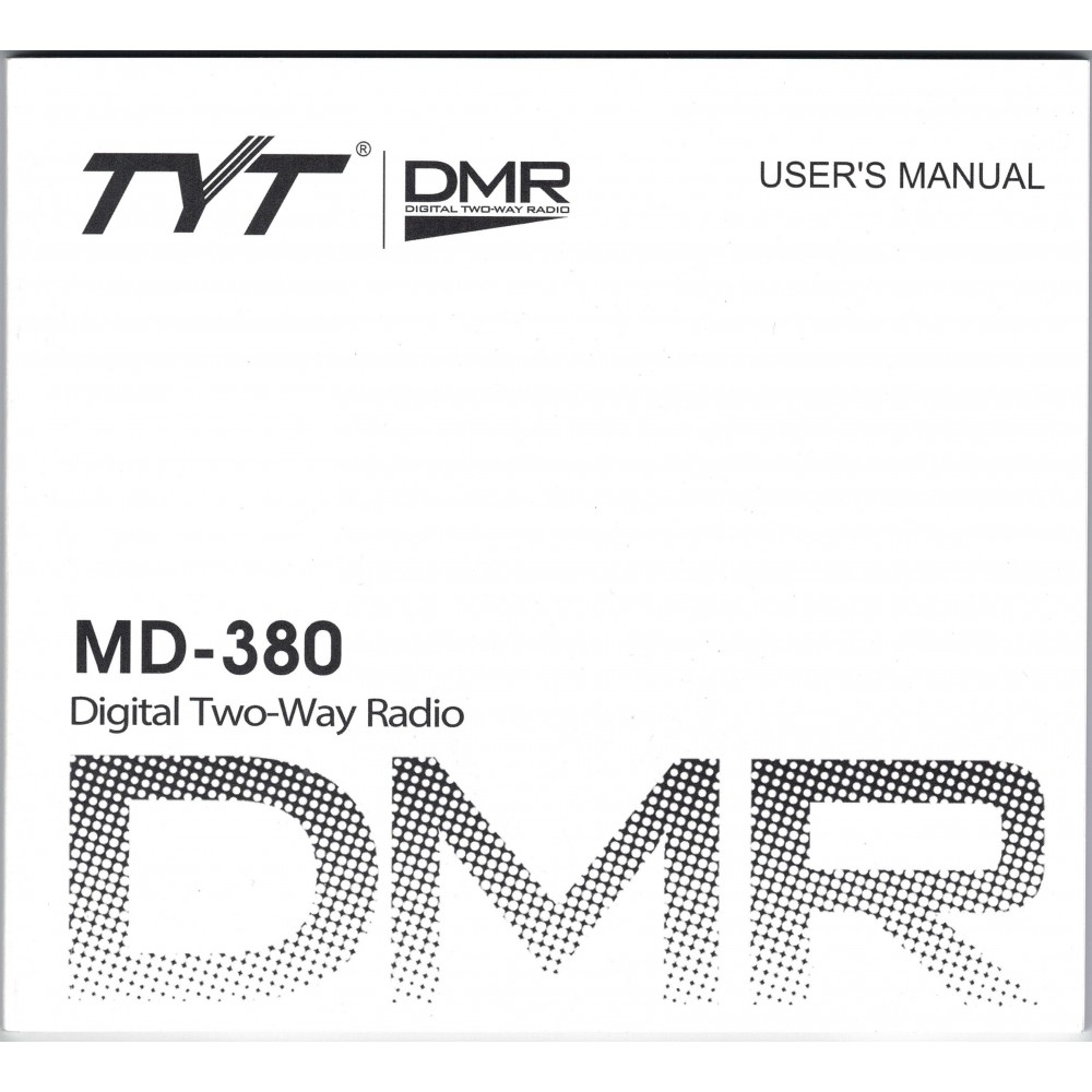 TYT MD-380 User Manual