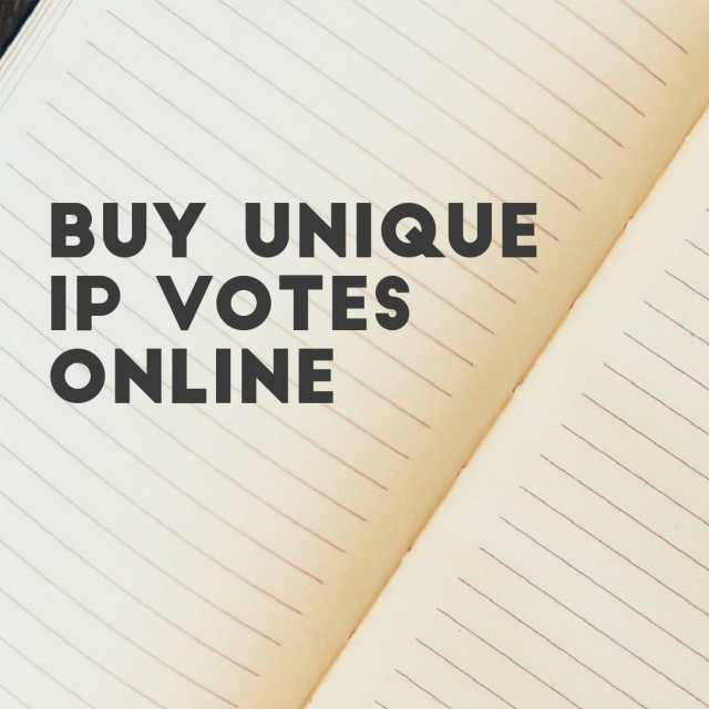 buy unique ip votes