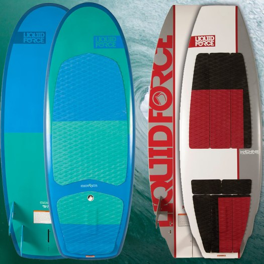 Liquid Force Surfers Happy Pill and Machine