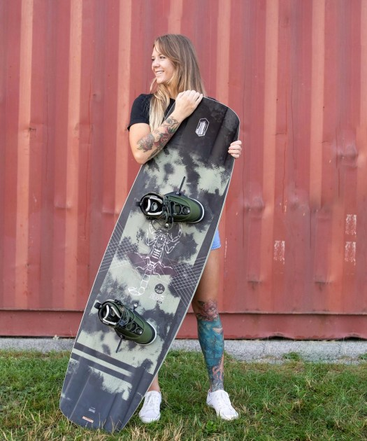 Anna and her 2021 Liquid Force pro model