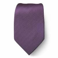 Solid Mens Tie Purple