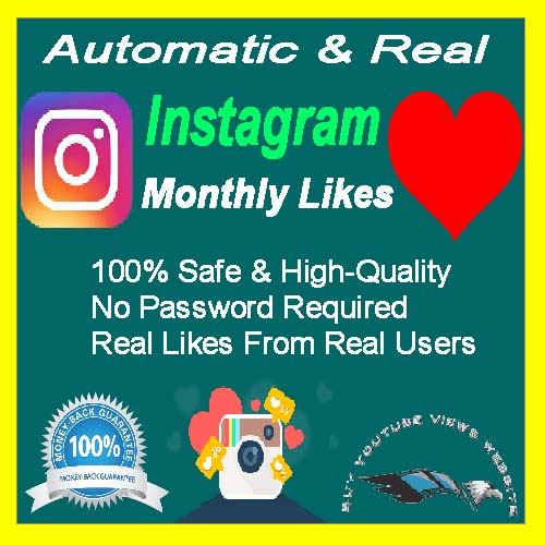 Buy Automatic Instagram Likes Monthly