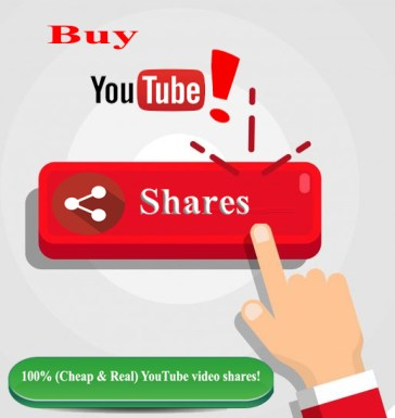 Buy YouTube Video Shares Cheap