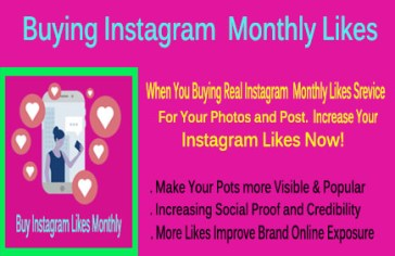 Buying Instagram Likes Monthly
