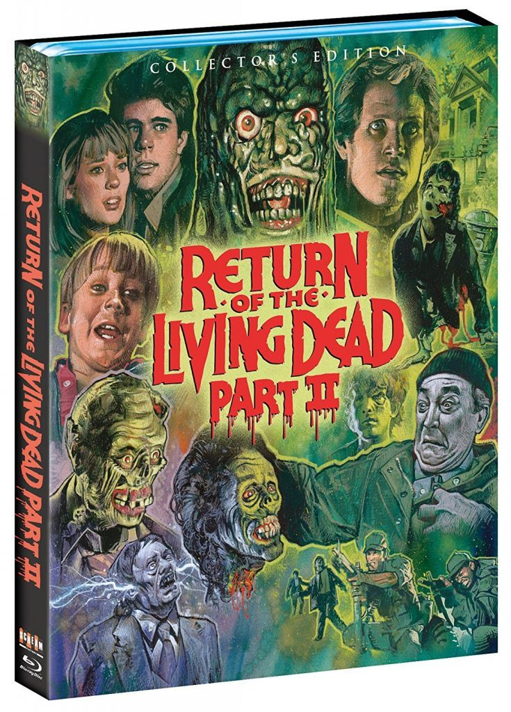 Full Release Details for Scream Factory's 'Return of the Living Dead Part II' Collector's Edition Blu-ray