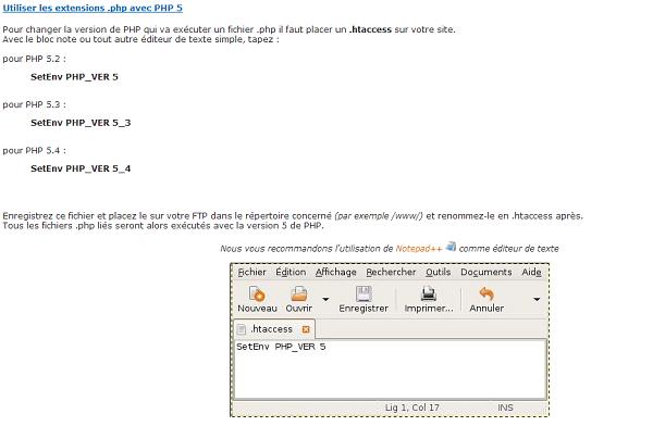 passer de php4 à php5