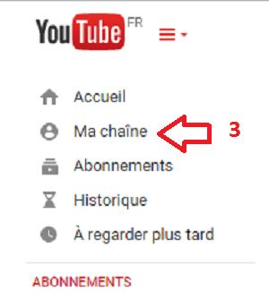 ma chaîne YouTube et gagner de l'argent avec Youtube