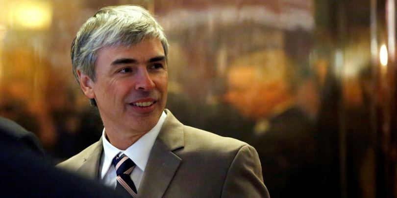 Business en ligne de Larry Page père de Google