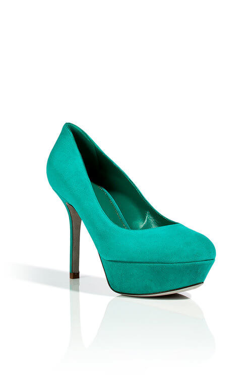 teal sergio rossi shoes