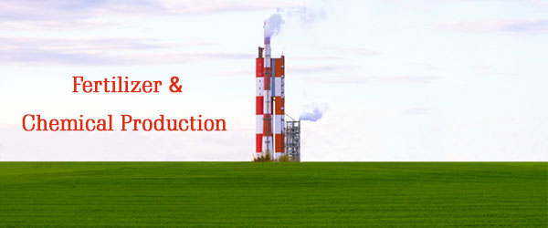 chemical fertilizer production