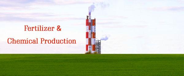 chemical fertilizer production