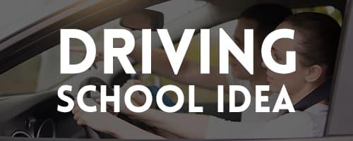 driving school ideas