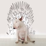 Dog-Loving Artist Draws Hilarious Sketches Inspired By His Bull Terrier