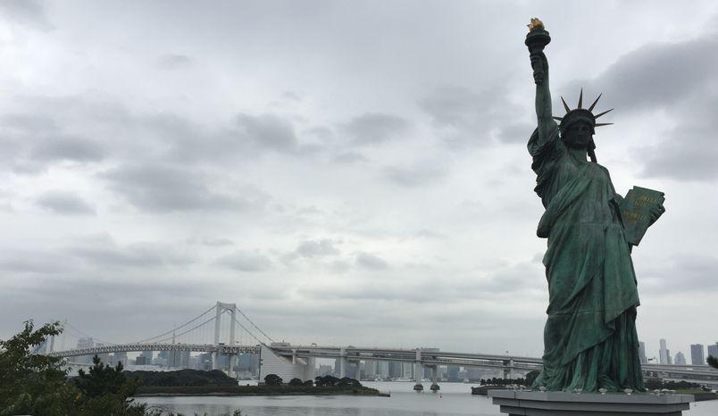 巴斯的書中黃金屋 東京自由女神像