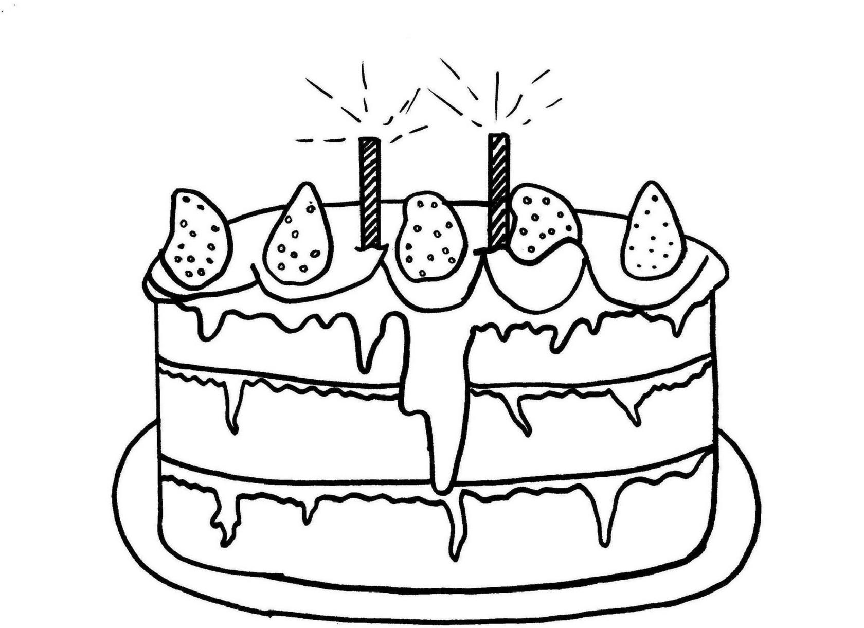 120 dessins de coloriage anniversaire a